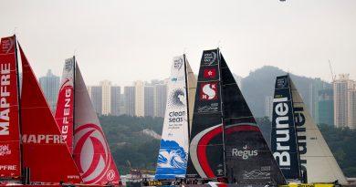 Hong Kong Stopover. Around Hong Kong Island Race. 28 January, 2018.