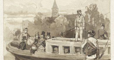 16-hondenwacht-De trekschuit, Herman Frederik Carel ten Kate, Collectie Rijksmuseum