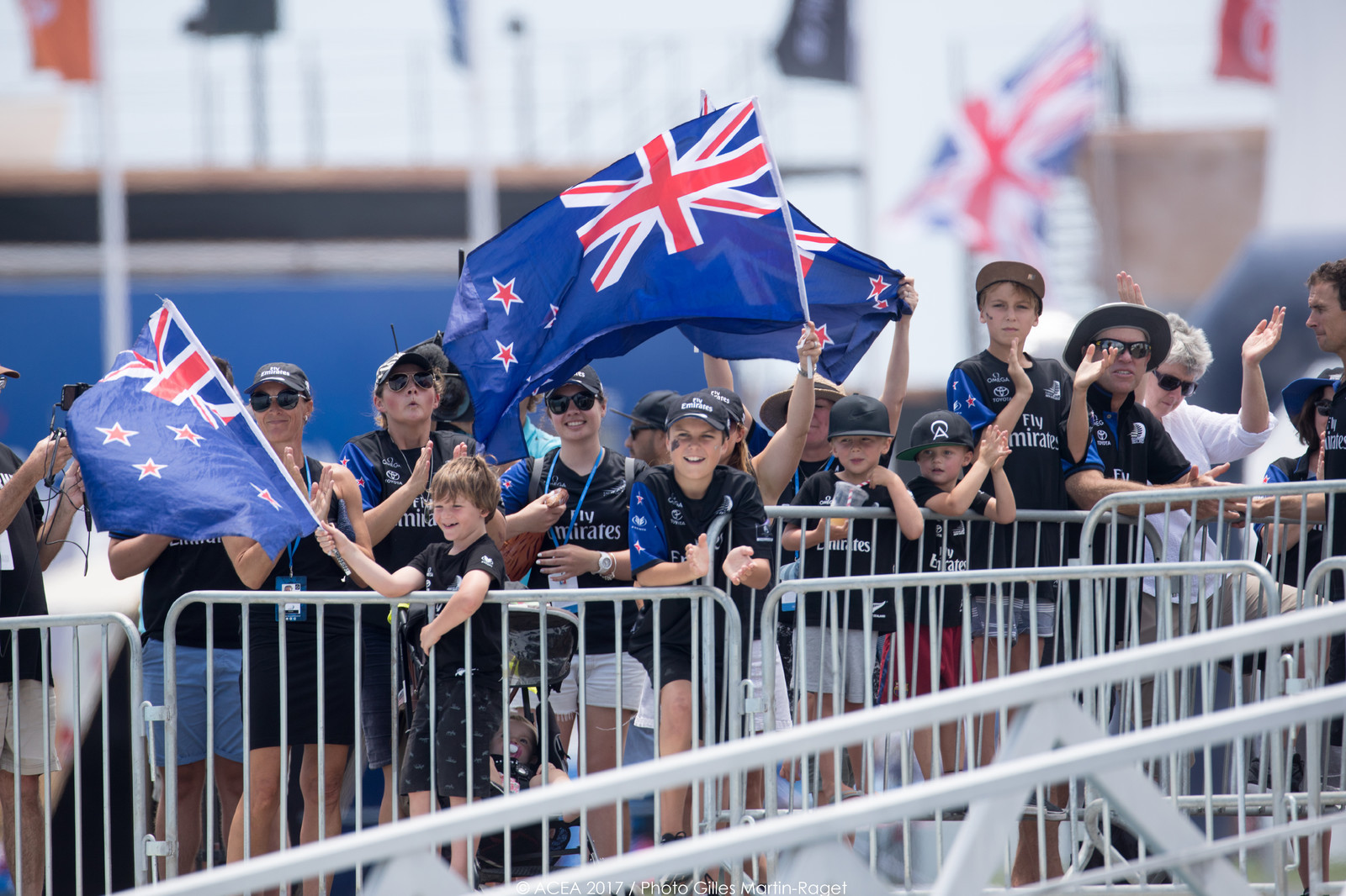35th America's Cup Bermuda 2017 - Louis Vuitton America's Cup Qualifiers, Day 7 - Dock Out Emirates Team New Zealand
