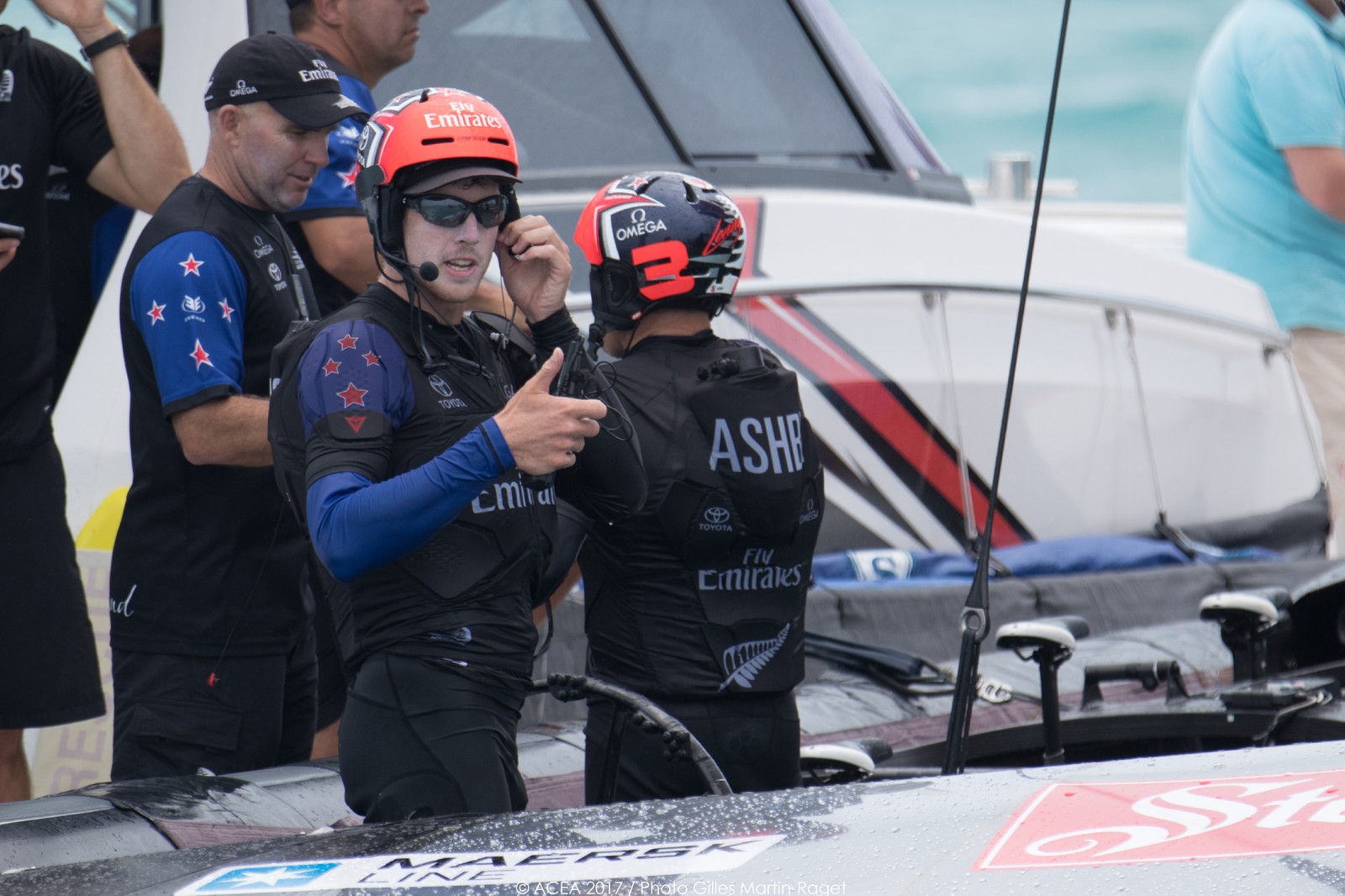 35th America's Cup Bermuda 2017 - Louis Vuitton America's Cup Qualifiers, Day 7