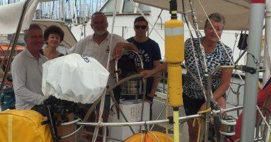 Marga Zeilt: Van Las Palmas naar Mindelo