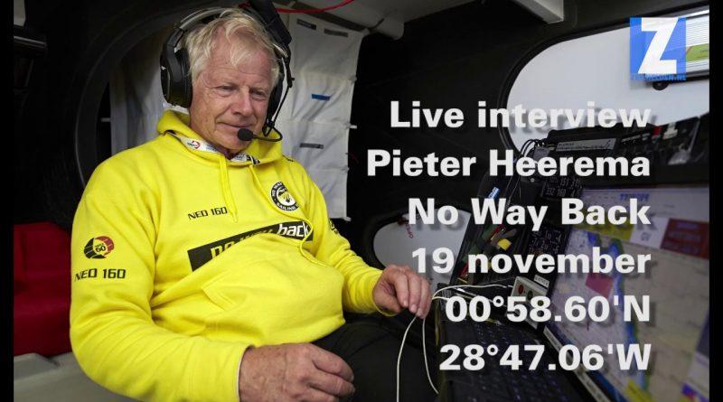 Interview Pieter Heerema – Vendée Globe (dag 14)
