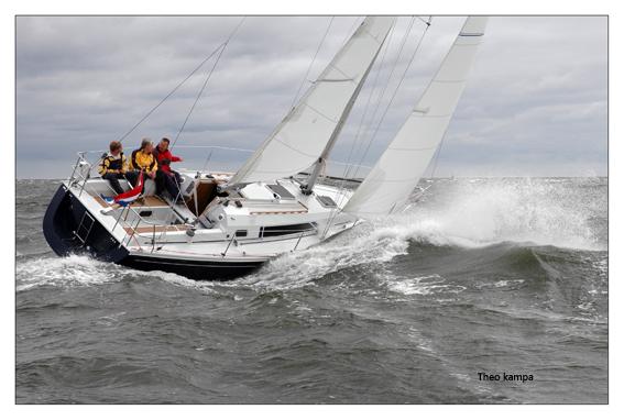 Winner 10.10 op de Noordzee