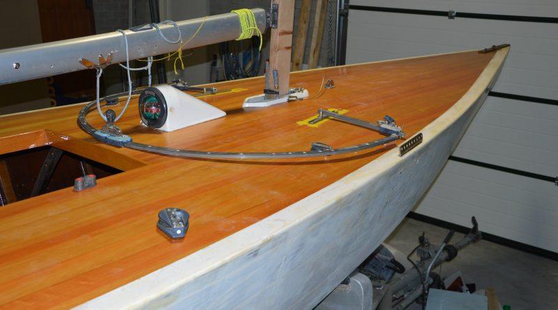 het houten dek van de Star van Bob Maas