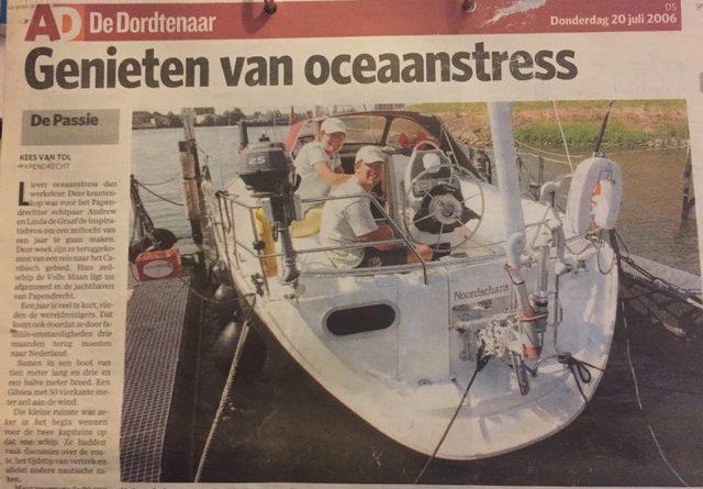 AD genieten van oceaanstress
