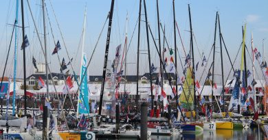 Haven les Sables d' Olonne met IMOCA open 60
