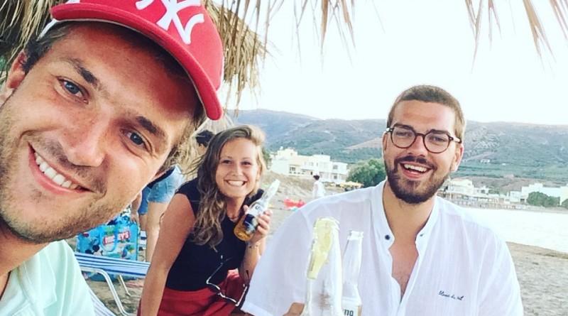 Max, Carmen, Toon op Kreta