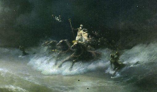 Poseidon, Ivan Constantinovich Aivazovsky