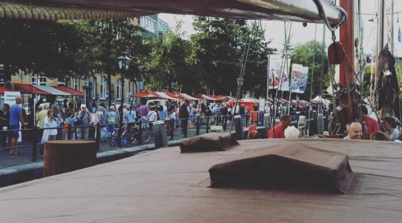 Stevenaak Helena op de Wereldhavendagen in Rotterdam