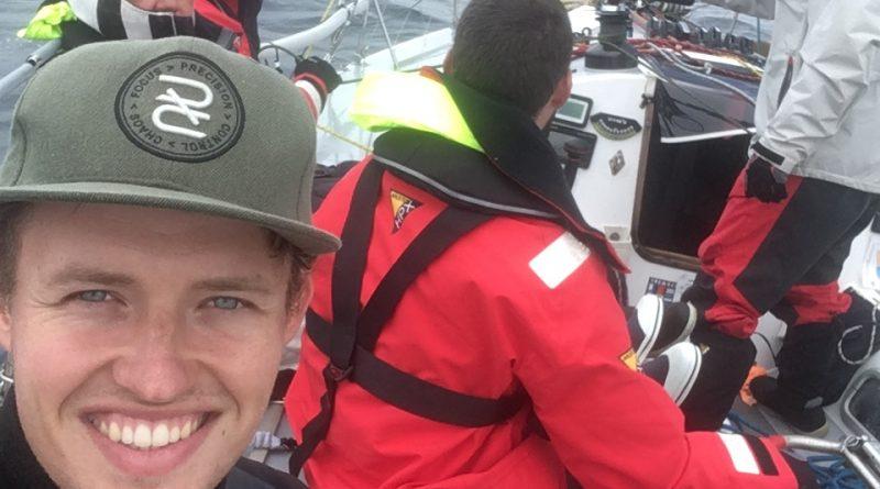 Jelmer op de Dark and Stormy tijdens de Rolex Sydney Hobart race