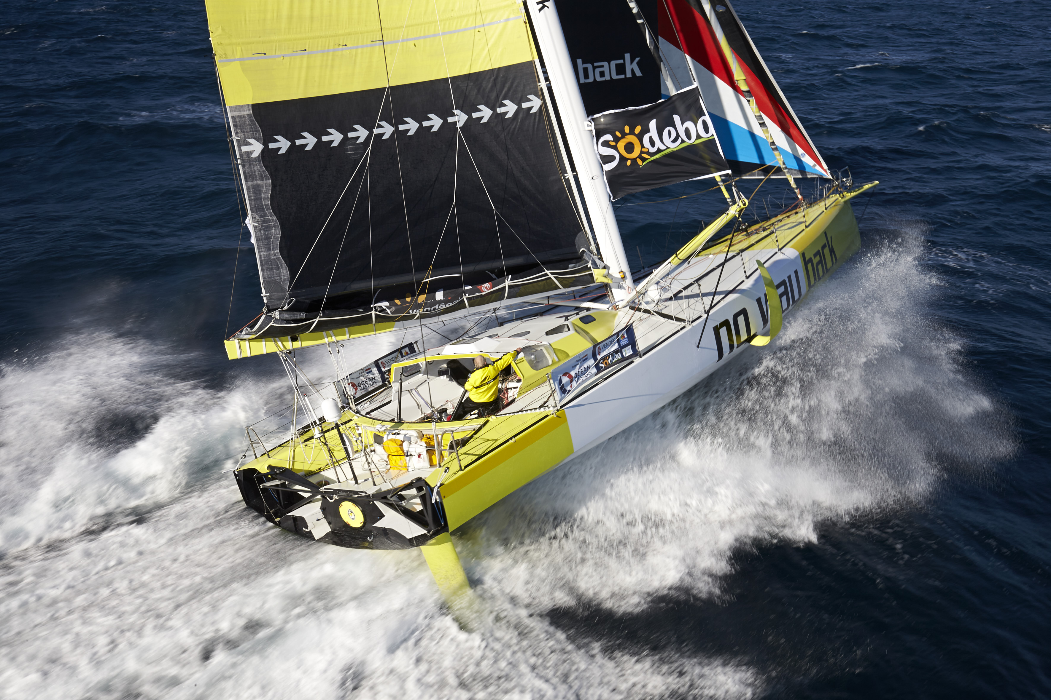 Vendée Globe 2016/2017 - No Way Back - Pieter Heerema (NED)