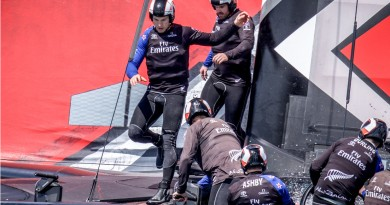 AC catamaran team Emirates