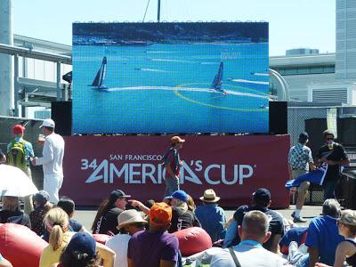 America's Cup toeschouwers