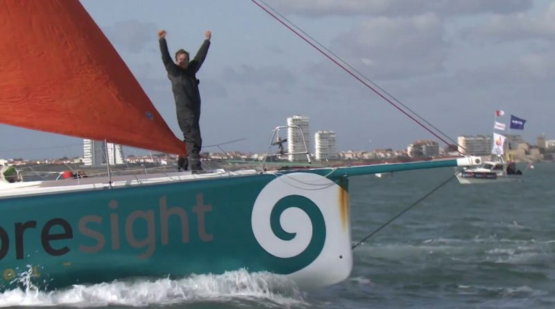 Conrad Coleman finisht Vendée Globe met Foresight natural energy