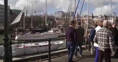 Flyer terug in Nederlandse wateren
