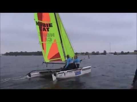 Onze Dutch America's Cup jeugdreams in de Hobie Wave zoeken sponsors op Talentboek