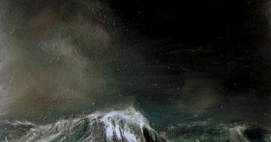 schilderij Giovanni Winne de zee is woest