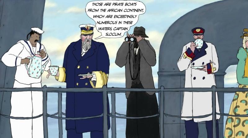 Joshua Slocum #3: Pirate Watching from Torpedo-Boat No.91