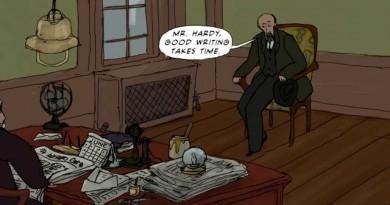 Joshua Slocum #8: Mr.Hardy Good Writing Takes Time