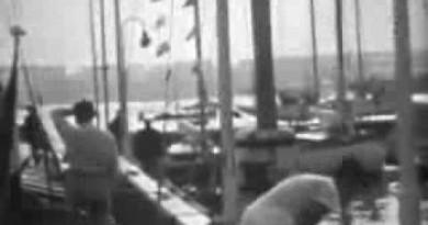Kagchelland en Maas bij de OS in Kiel (1936)