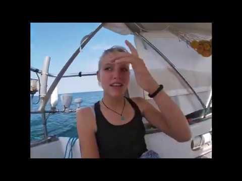 Linde around the world: Alleen met z'n 4'ren op een boot de wereld rond.