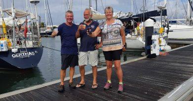 Marga zeilt: Van Mindelo naar Rodney Bay Marina