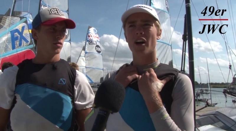 Bart Lambriex en Philip Meijer over hun JWC 49er /49er FX