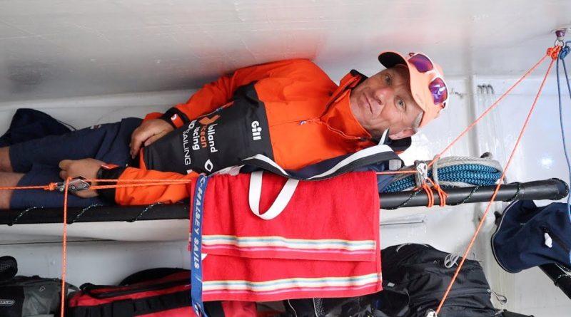 Nynke over het leven aan boord van een oceaan racer