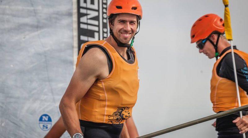 Meest relaxte speed demon Pieter-Jan Postma en Sailing Team NL