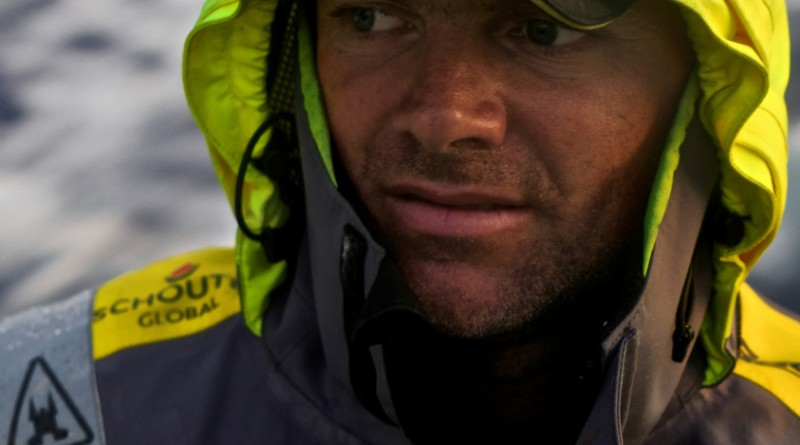 April 21, 2015. Leg 6 to Newport onboard Team Brunel. Day 2. Gerd-Jan Poortman.