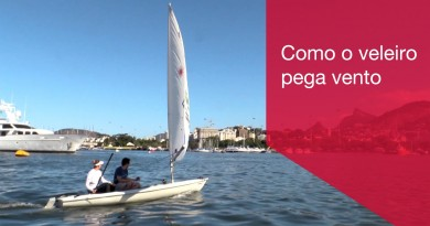 Samba Sailing op het Olympic Test Event in Rio