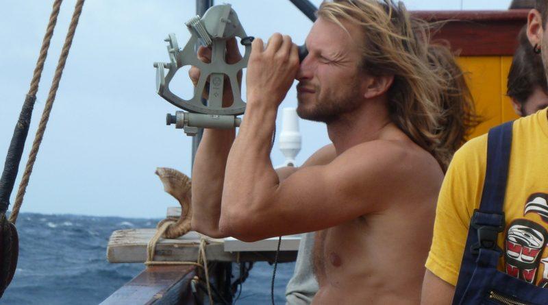 Leren navigeren met sextant op de Tres Hombres