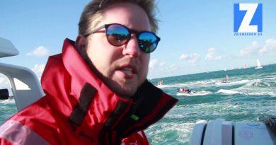 Start Vendée Globe vanaf het water