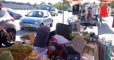 Tess-vlog: Inzameling rommelmarkt