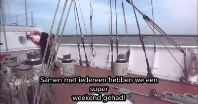 Tess-vlog: Proefvaren op de Eendracht