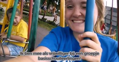 Tess-vlog: Vrijwilliger bij Kindervakantieweek