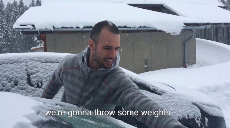 Wintertraining voor Olympische zeilers