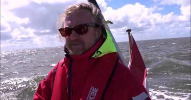 Zeilboot Ingeling vlog: Laatst loodjes wegen het zwaarst met wind het Slijkgat in met de Yoda.