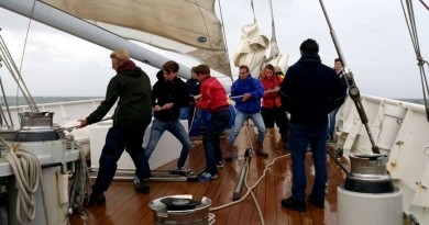 Zeilschip Eendracht: Impressie van jongerenreis naar Honfleur